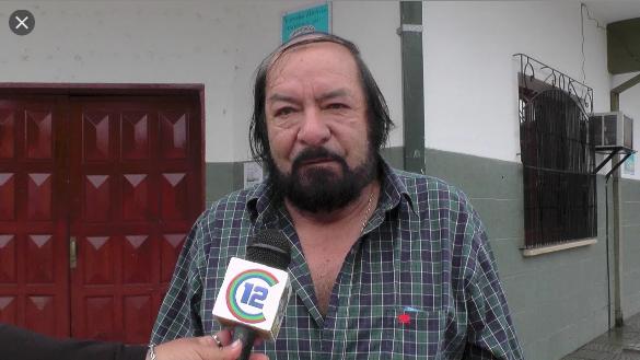 Fermín Hoyos - titular de ATE Secc San Martín