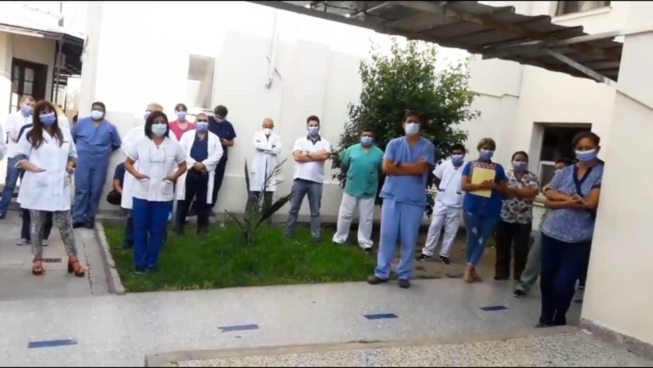 Hospital Materno Infantil protesta