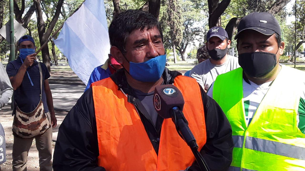 METÁN- Ricardo -Tato- Serrano deleg de la asociación civil de desocupados de Metán