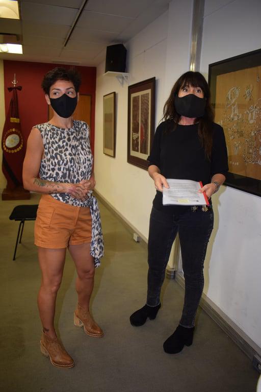Verónica Figueroa junto a Sabrina Sansone (2)