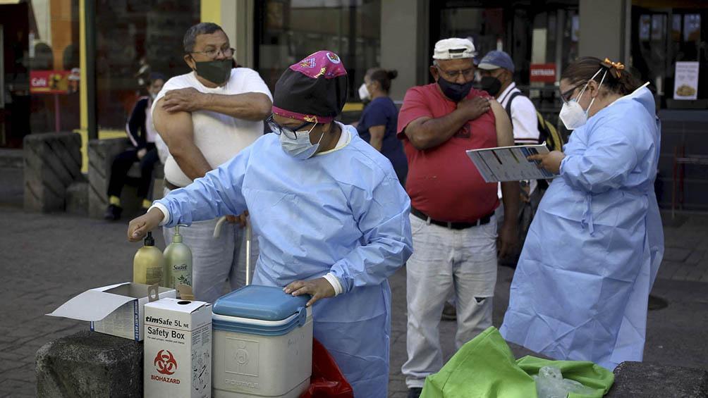 Vacunación contra la influenza en Tegucigalpa