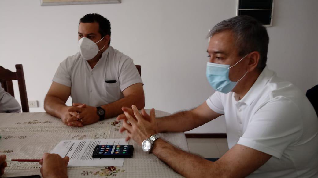 ORAN- Pablo González reunió a su gabinete