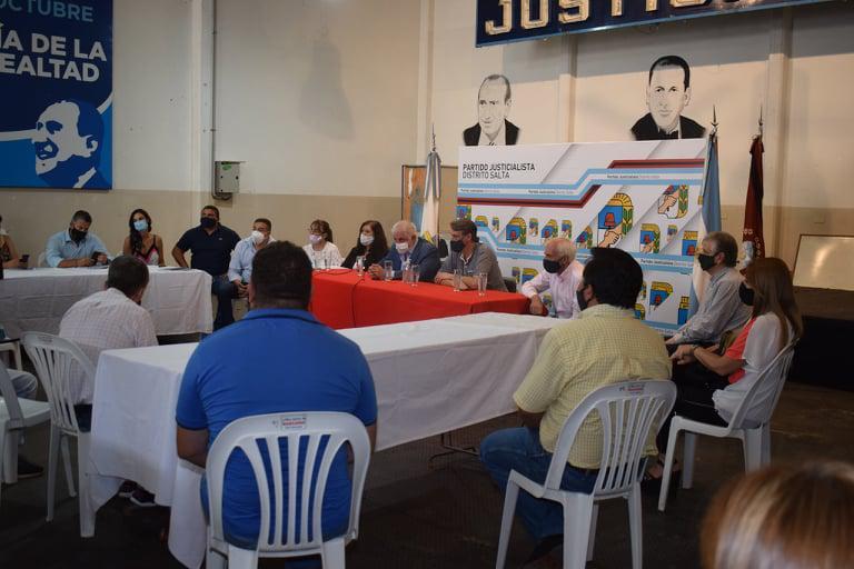PJ Salta apoya a Alberto Fernández (3)