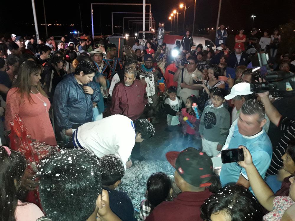 Con La Ofrenda A La Pachamama Desenterraron El Carnaval 2019