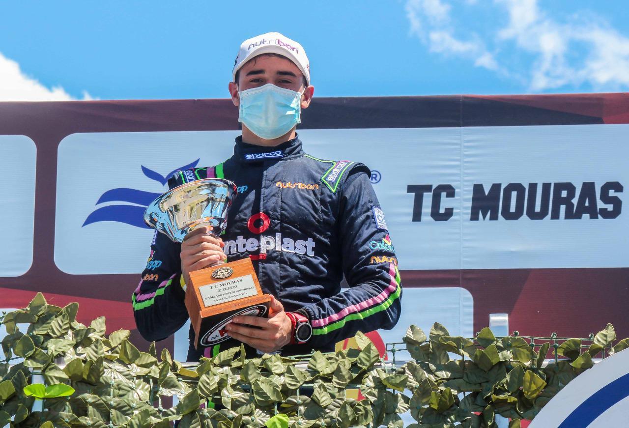 Jeremías Olmedo podio en la prueba del domingo 25 b