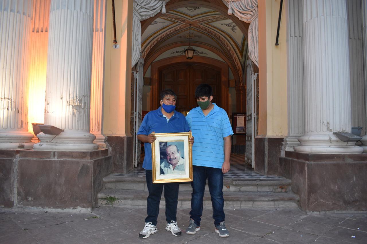 Roberto Romero misa y Tuca Santos (1)