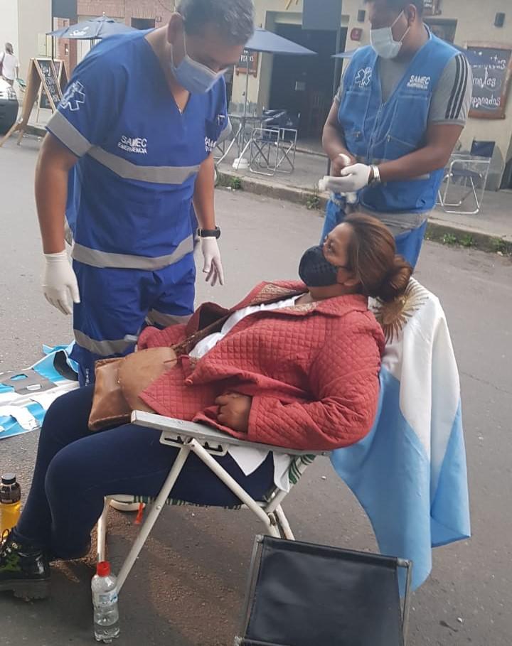 Mujer de huelga en Seguridad - SAMEC (4)