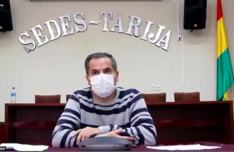 TARIJA - Paul-castellanos- director del Servicio Departamental de Salud (SEDES)