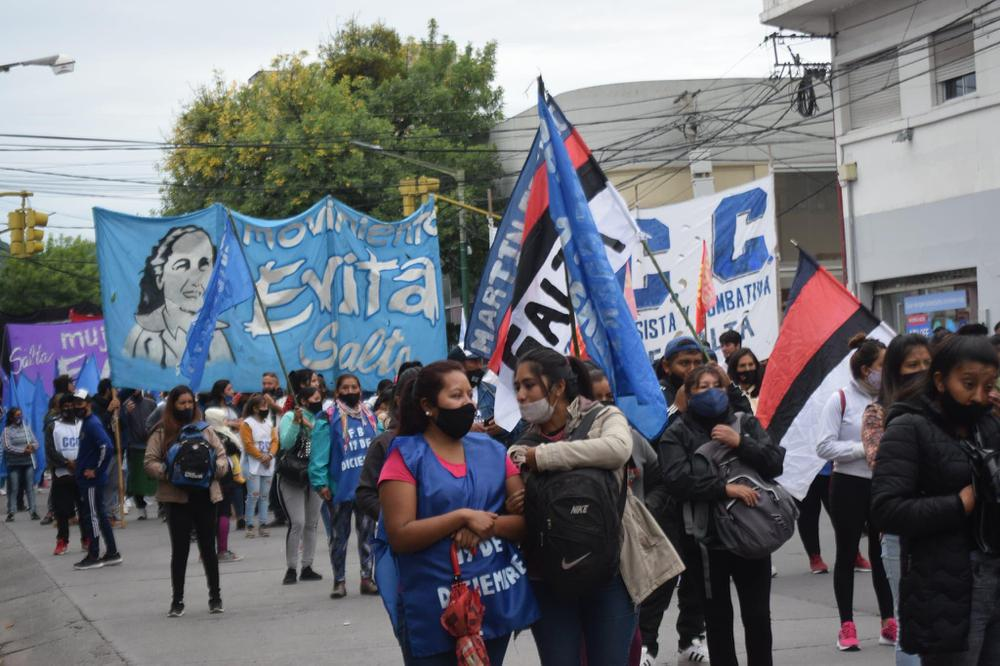 Organizaciones sociales -Protesta por trabajo (13)
